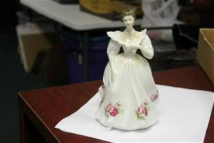 """A Hand Signed Royal Doulton Figurine- """"April"""""""
