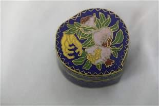 A Cloisonne Trinket Box