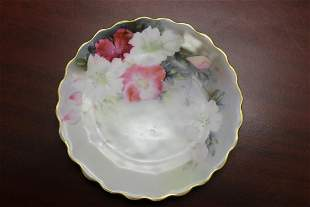 A Bavaria Hand Painted Plate