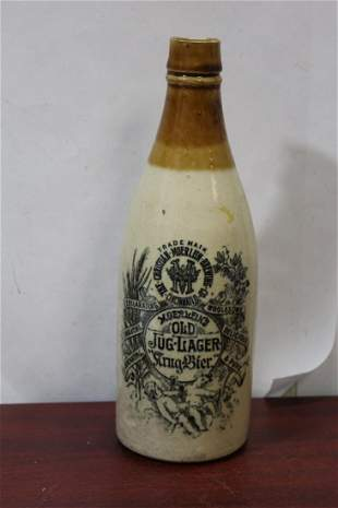 An Antique Jug-Lager Bottle