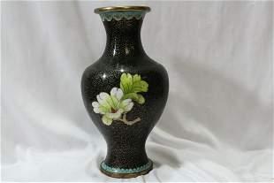 A Vintage Cloisonne Vase