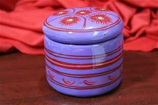 A Ceramic Trinket Box