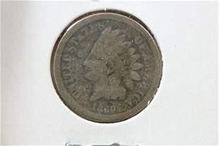An 1860 Civil War Era Indian Head Penny