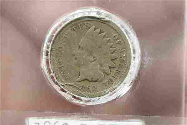 An 1862 Civil Ware Era Indian Head Cent