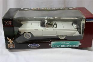 A Diecast Thunderbird Model Car