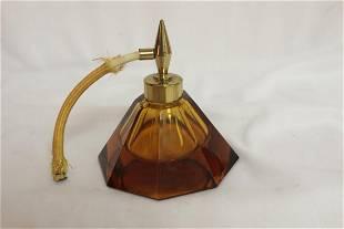 A Glass Parfum Bottle