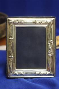 An English Sterling Silver Frame