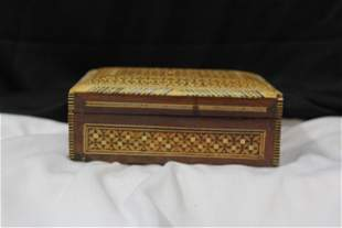 An Inlaid Wooden Box