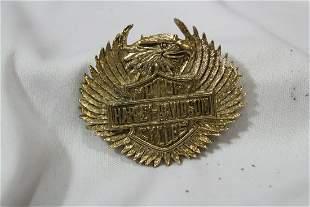 A Harley Davidson Pin