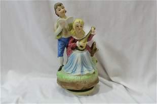 A Figueral Ceramic Music Box