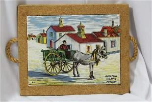 A Carro Tipico Algarve Tile