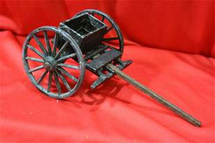 A Cast Iron or Metal Cannon Holder