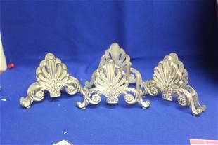 Set of 3 Metal Napkin Rings