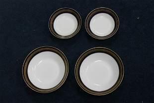 Lot of 4 Noritake Legacy Soup Bowls