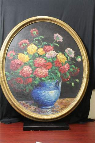 Oil on Board by Rose Marie Pent