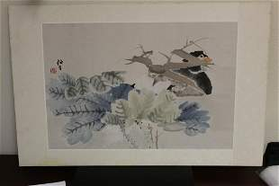 Signed Chinese / Asian Watercolor / Print