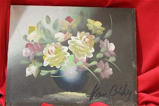 A signed Oil on Board