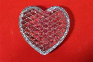 A Heart Shape Paperweight