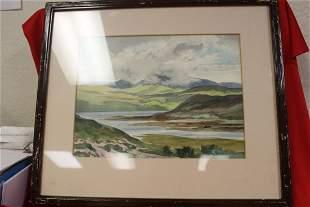A Watercolour on Caragh Lake