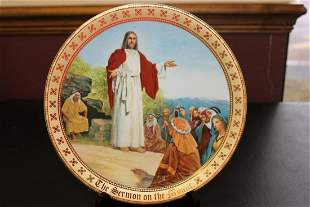 The Ten Commandments Plate Collection