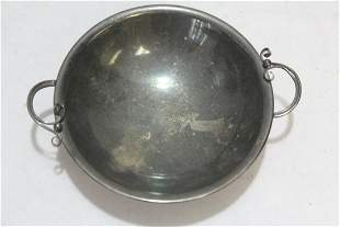 A Mid Century Modern Silverplated Bowl