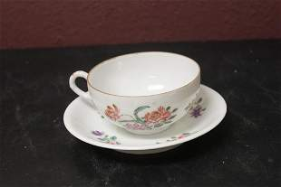 An Export Chinese Cup and Saucer