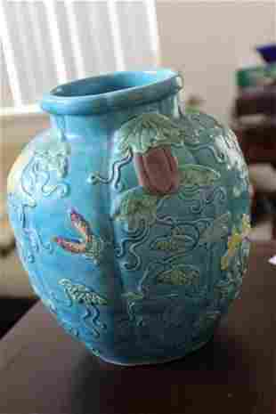 Early 20th Century Chinese Turquoise Vase