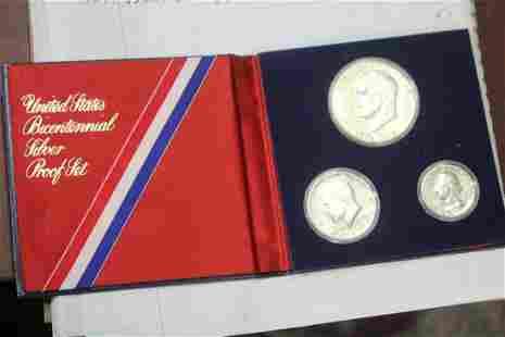 A Bicentennial Proof Coin Set