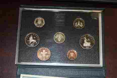 A United Kingdom Proof Coin Collection