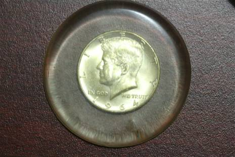 A 1964 Kennedy Silver Half Dollar