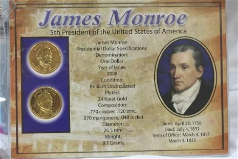 James Monroe 2-coin Set