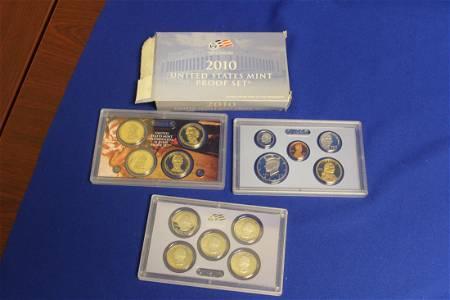 A 2010 US Mint Proof Set