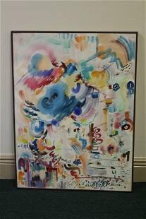 A Framed Watercolour