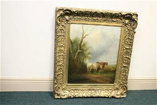 A Beautiful Framed Horse Painting