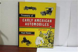 Hardcover Book: Early American Automobiles