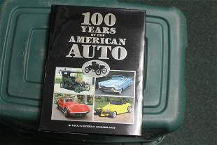 Hardcover Book: 100 Years of the American Auto