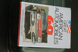 Hardcover Book: Great American Automobiles of the 60's