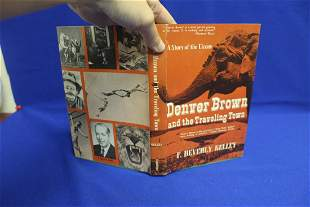 Hardcover Book: Denver Brown and the Traveling Town