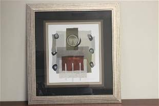 A Plate Signed Framed Lithograph