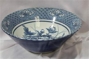 An Oriental Blue and White Bowl
