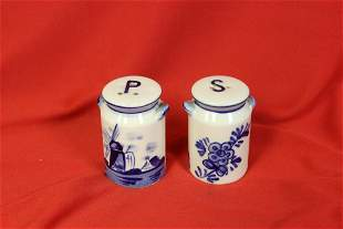 A Pair of Salt and Pepper Shaker