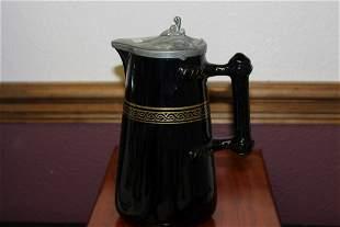 A Vintage Ceramic Pitcher(?) Tea Server(?)