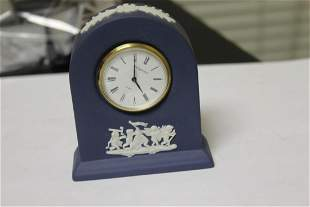 A Small Wedgwood Dome Clock