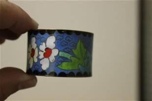 A Cloisonne Napkin Ring