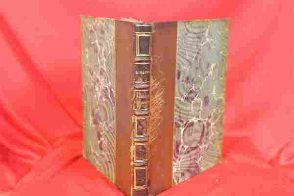 A Small Leather Bound Book - 1909