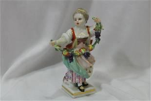 An Antique Meissen Figurine