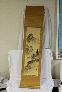 A Chinese Scroll Painting