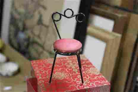 A Miniature Doll House Chair