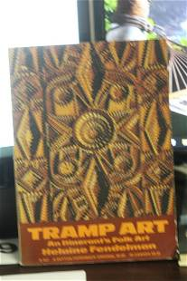 A Very Rare First Edition Book on Tramp Art