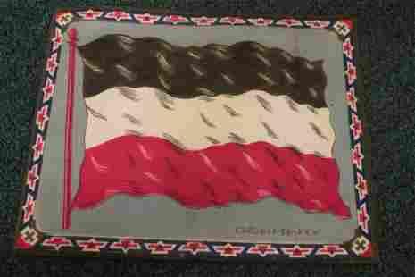 Vintage Tobacco Flag